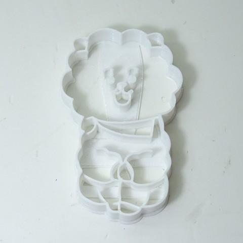 Download 3D print files cookie cutter bts BT21 RJ cookie cutter, PatricioVazquez