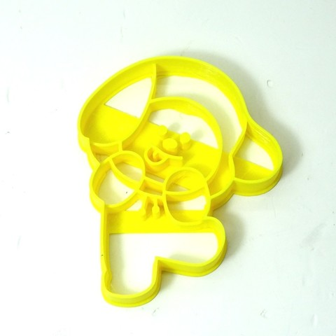 3D printing model cookie cutter bts BT21 CHIMMY cookie cutter, PatricioVazquez