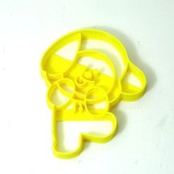 3D printing model cookie cutter bts BT21 CHIMMY cookie cutter, PatricioVazquez