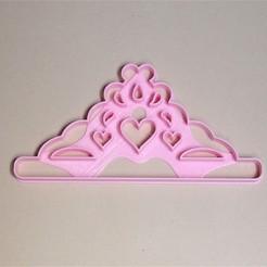 Descargar modelos 3D para imprimir cortante cutter crown corona para torta, PatricioVazquez