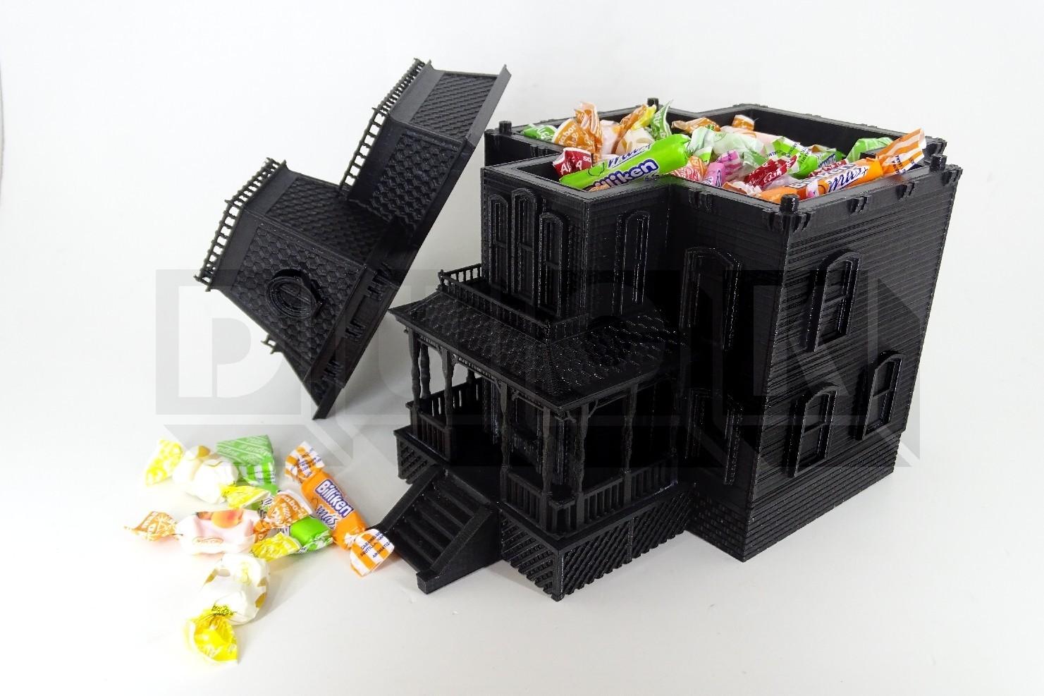 BATES2DUCK.jpg Download STL file bates motel house psycho house • 3D printable object, PatricioVazquez