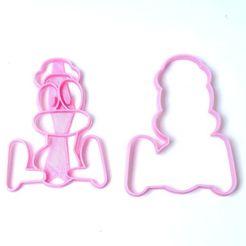 DSC05426.JPG Download STL file cookie cutters cutters pocoyo duck • 3D printer design, PatricioVazquez