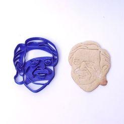 Descargar archivo 3D cookie cutter cortante galletitas alberto fernandez, PatricioVazquez