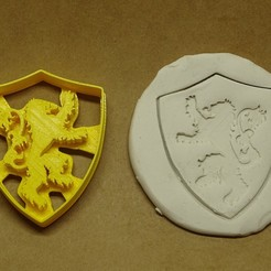 Download 3D printer designs Cookie cutter lannister, PatricioVazquez