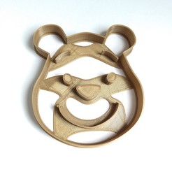 STL files cookie cutter cookie cutter POOH, PatricioVazquez