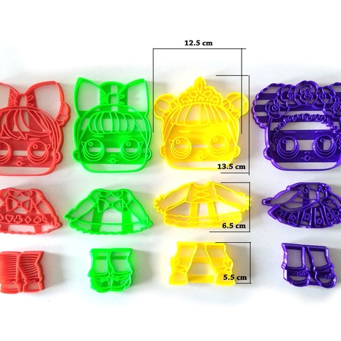 Download 3D printer designs lol surprise big for cake decoration, PatricioVazquez