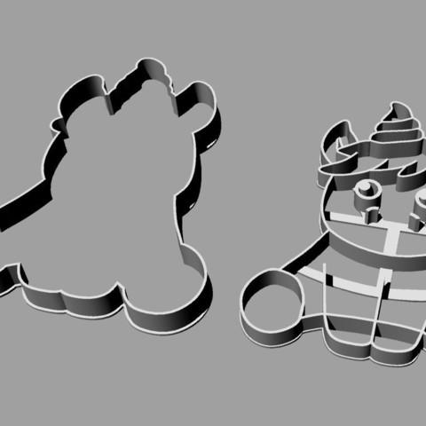 unicornio bb contorno.jpg Download STL file unicorn cookie cutter unicorns • 3D print model, PatricioVazquez