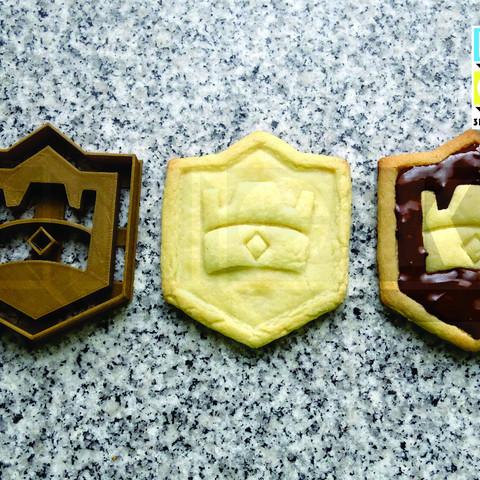 STL file cookie cutter cookie cutter clash royale, PatricioVazquez