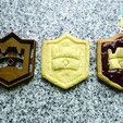 clash royale cookie.jpg Download STL file cookie cutter cookie cutter clash royale • Design to 3D print, PatricioVazquez