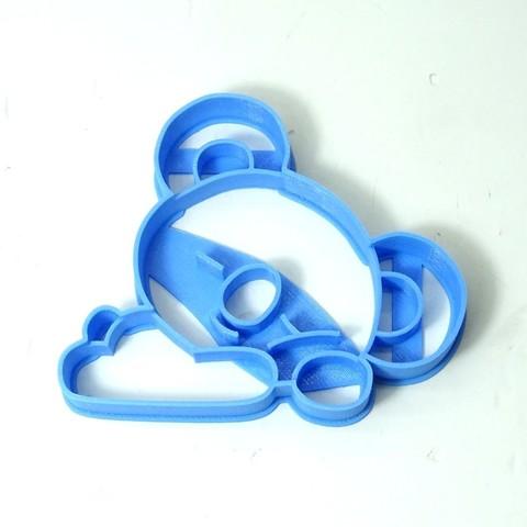 Download 3D print files cookie cutter bts BT21 koya cookie cutter, PatricioVazquez