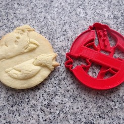 stl files ghostbusters cookie cutter ghostbusters, PatricioVazquez