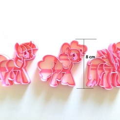 3D file my little pony cookie cutter, PatricioVazquez