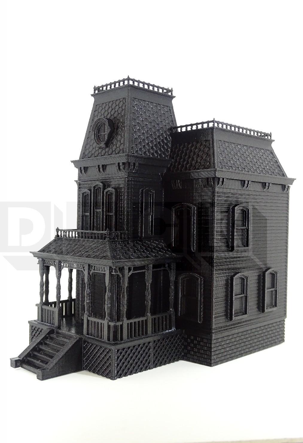BATES1DUCK.jpg Download STL file bates motel house psycho house • 3D printable object, PatricioVazquez