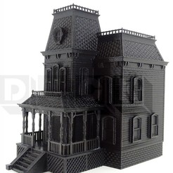Download 3D printer files bates motel house psycho house, PatricioVazquez