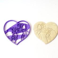 Télécharger plan imprimante 3D la dame à l'emporte-pièce et le clochard et le clochard valentin, PatricioVazquez