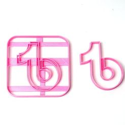 DSC05444.JPG Download STL file cookie cutters tik tok tiktok • Model to 3D print, PatricioVazquez