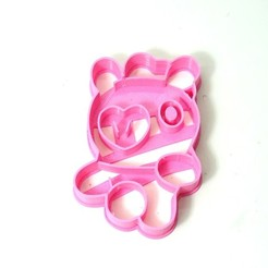 3D printer models cookie cutter bts BT21 mang cookie cutter, PatricioVazquez