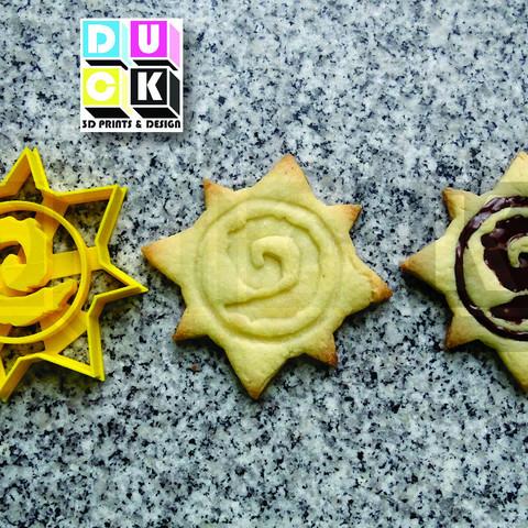 heartstone cookie.jpg Download STL file cookie cutter cookie cutter heartstone • 3D printing design, PatricioVazquez