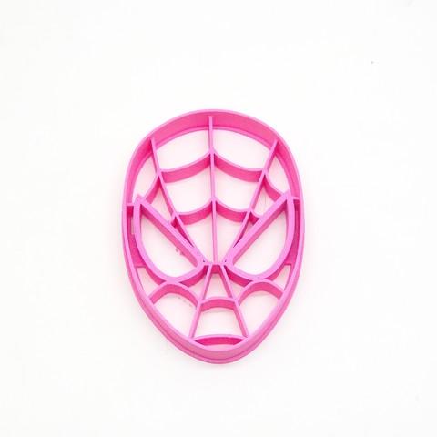 Download 3D model cookie cutter spiderman, PatricioVazquez