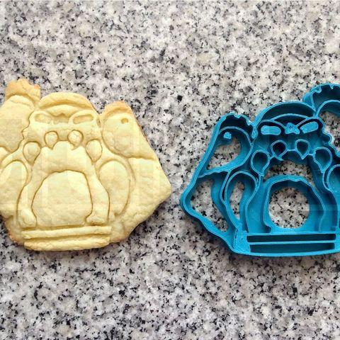 3D printer models grayskull cookie cutter, PatricioVazquez