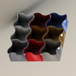 finish.JPG Télécharger fichier STL gratuit Cool wave box • Plan pour imprimante 3D, ClmentChupin