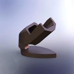 briquert.JPG Télécharger fichier STL gratuit Lighter artistic holder • Modèle pour impression 3D, ClmentChupin