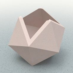 smooth.JPG Télécharger fichier STL gratuit Triangle box cubic • Design pour imprimante 3D, ClmentChupin