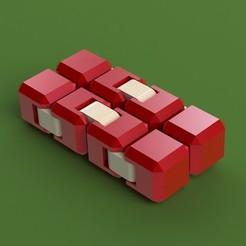 Télécharger fichier STL gratuit Fidget cube simple • Objet pour impression 3D, ClmentChupin