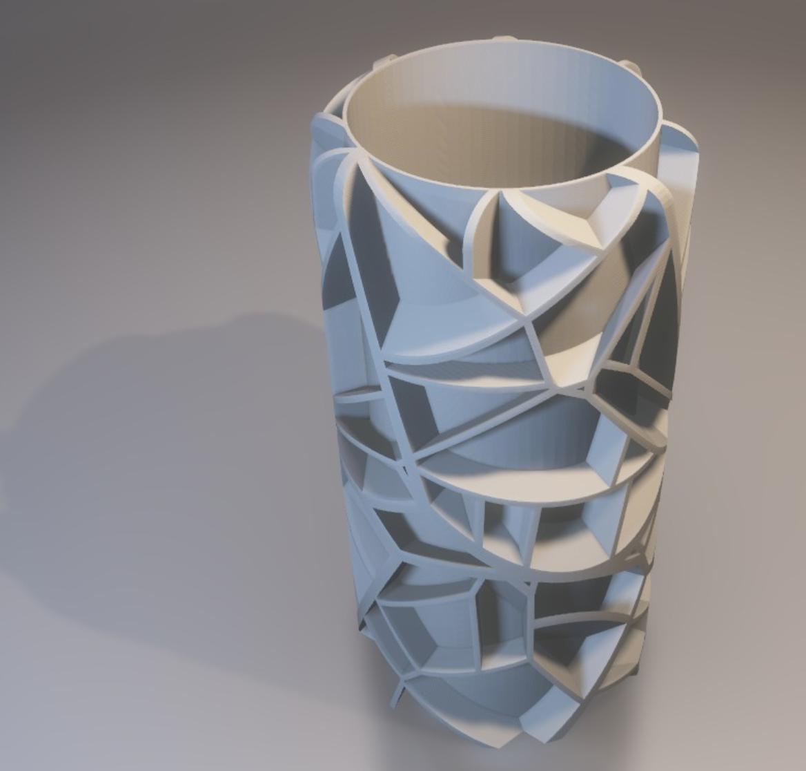 Capture d'écran 2017-11-28 à 18.40.21.png Download free STL file Voronoi vase (rounded or not) • 3D printable model, xTremePower