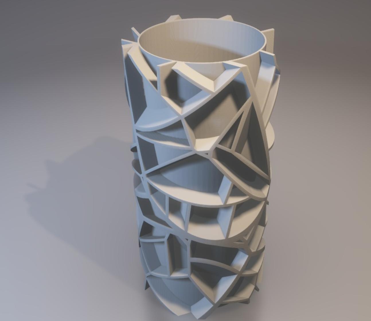 Capture d'écran 2017-11-28 à 18.40.34.png Download free STL file Voronoi vase (rounded or not) • 3D printable model, xTremePower