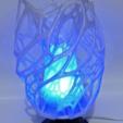 Modelos 3D para imprimir gratis Lámpara celular con pie, E27 RGB LED y difusor, xTremePower