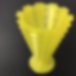 Free 3D model Spiky vase (Supportless in 1 or 2 pieces), xTremePower