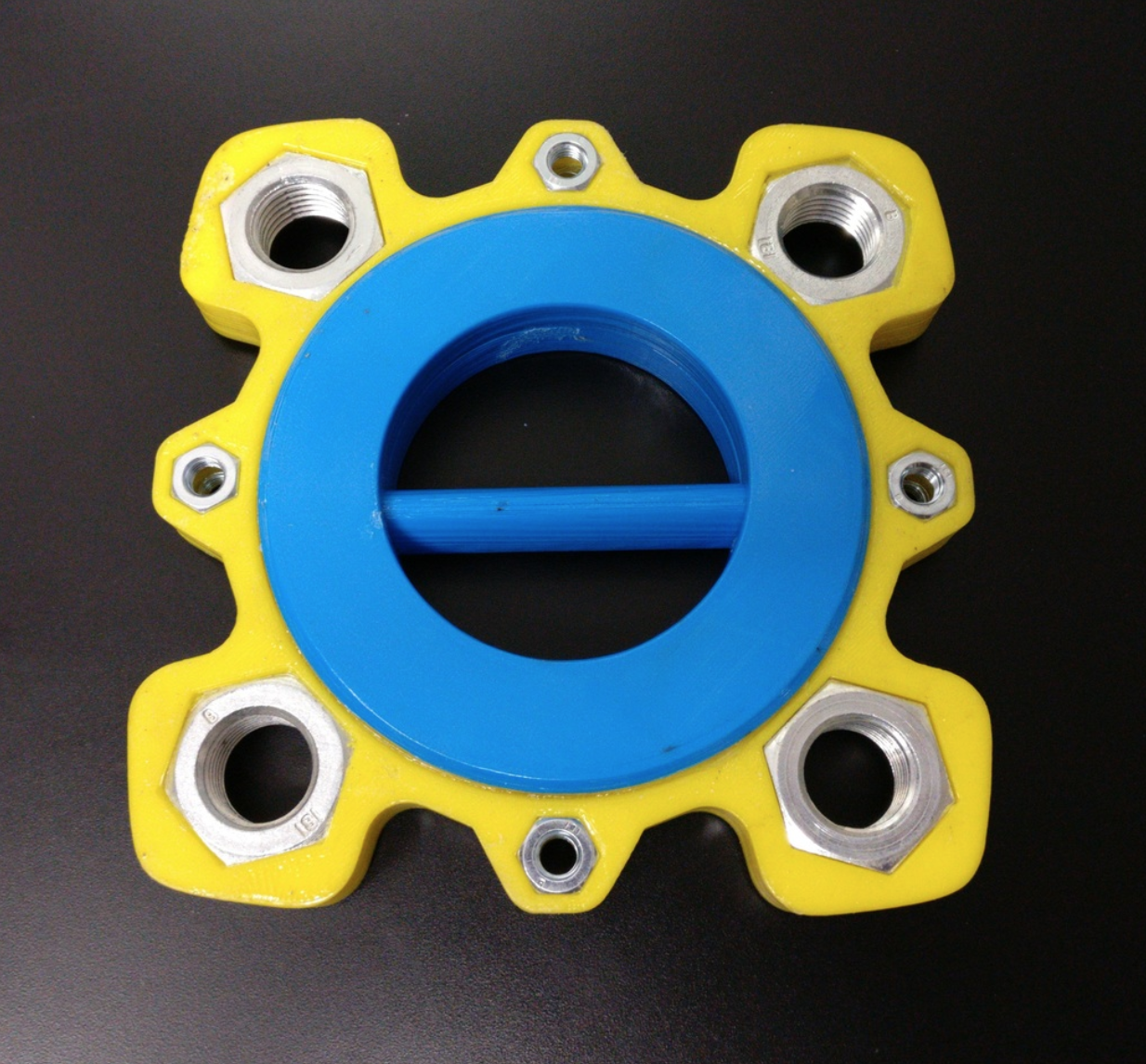 Capture d'écran 2017-11-28 à 18.01.18.png Download free STL file Giant fidget spinner, 6020 bearing and M27 + M10 nuts • 3D printing object, xTremePower