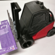 Free 3d print files Fenwick Linde H40 forklift with moving parts, xTremePower