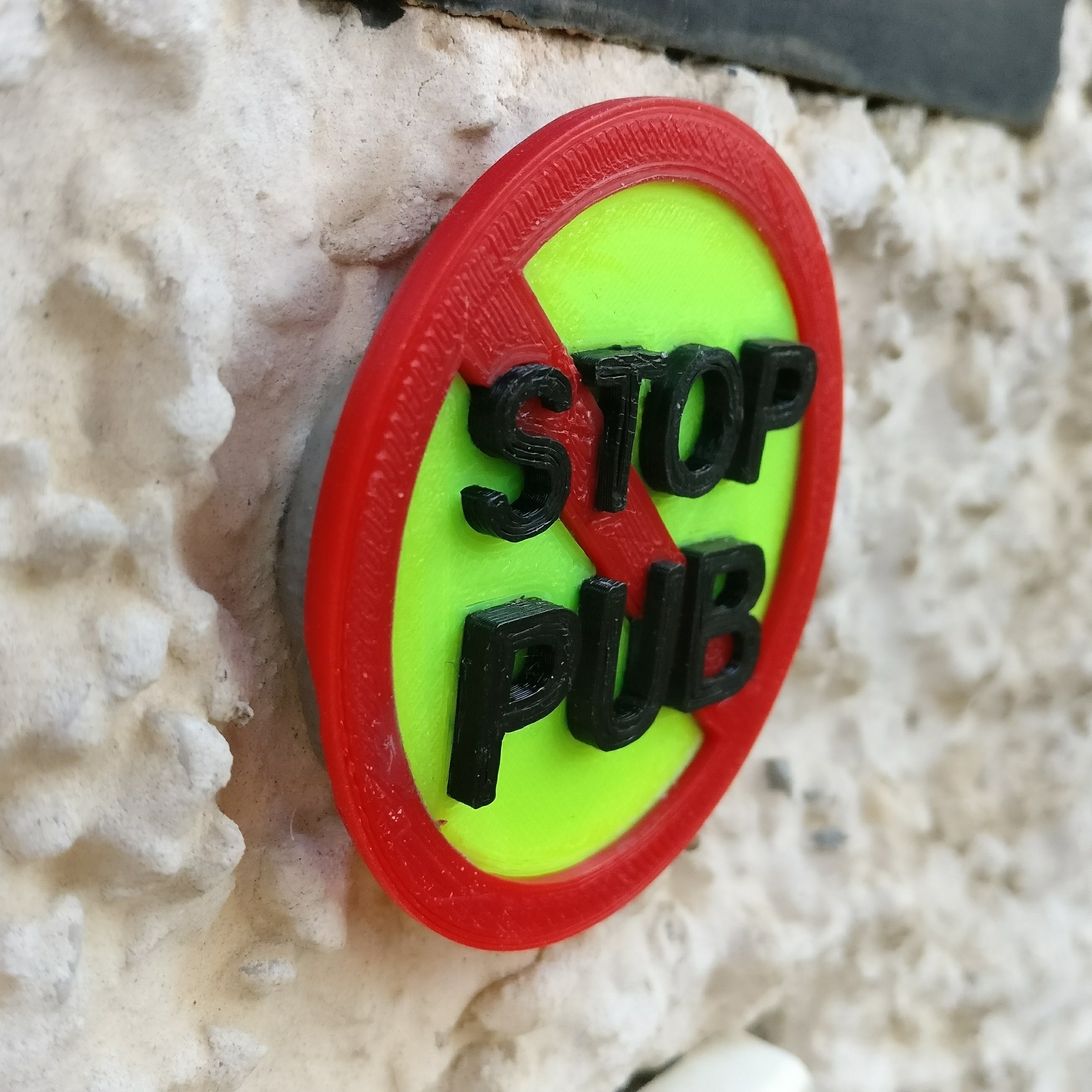 IMG_20180313_181907.jpg Download free STL file Stop PUB for mailbox • Model to 3D print, xTremePower