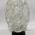 Download free 3D printer designs Cellular Lamp with foot, E27 RGB LED and diffuser, xTremePower