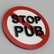 STOP_PUB_2018-Mar-04_03-44-31PM-000_CustomizedView4883840579_png.png Download free STL file Stop PUB for mailbox • Model to 3D print, xTremePower