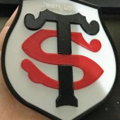 Impresiones 3D gratis Logo Stade Toulousain, xTremePower