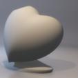 Free STL files Heart vase, xTremePower