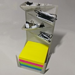 Free 3D model Post-it, drawing pin and paperclip holder, xTremePower