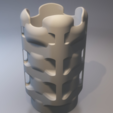 Download free STL files Cubed round cube vase, xTremePower