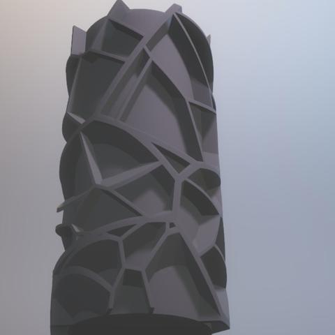 Capture d'écran 2017-11-28 à 18.40.29.png Download free STL file Voronoi vase (rounded or not) • 3D printable model, xTremePower