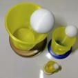 Capture d'écran 2017-11-28 à 18.45.09.png Download free STL file Beer Pong Cup / Trophy (3 Parts or single part) • 3D printable model, xTremePower