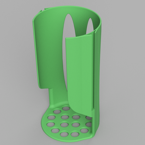 Tassimo v44.png Download free STL file Tassimo pod holder with infinite size • 3D printable object, xTremePower