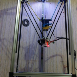 Free 3D printer files Flying extruder for Delta printers, xTremePower