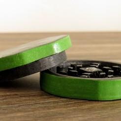 SELECTION2.jpg Télécharger fichier STL Grinder Broyeur Herbe Fume • Design imprimable en 3D, SolutionsDesign