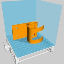 3D print model Skateboard Door Holder Wall Mount, SolutionsDesign