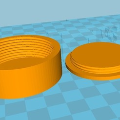 Descargar diseños 3D gratis Caja discreta Almacenamiento polivalente Almacenamiento de datos Tornillo de cierre, SolutionsDesign