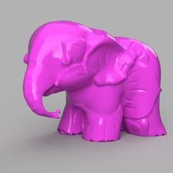 0000240.png Télécharger fichier STL elephant  • Modèle pour imprimante 3D, motek