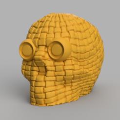 25 rendu 2.png Download free STL file skull x2 • 3D printing object, motek